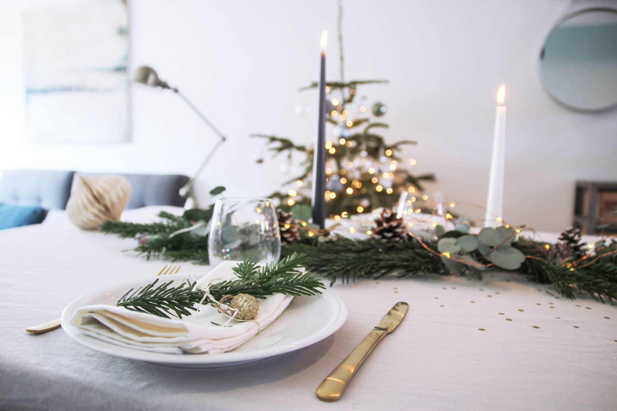 decoration table de noel inspiration par decocot